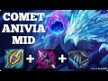 ARCANE COMET ANIVIA MID LANE! Full League Of Legends Gameplay!