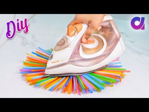 10 genius Drinking Straw Craft ideas to make in 5 minutes | Artkala