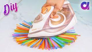 10 genius Drinking Straw Craft ideas to make in 5 minutes | Artkala
