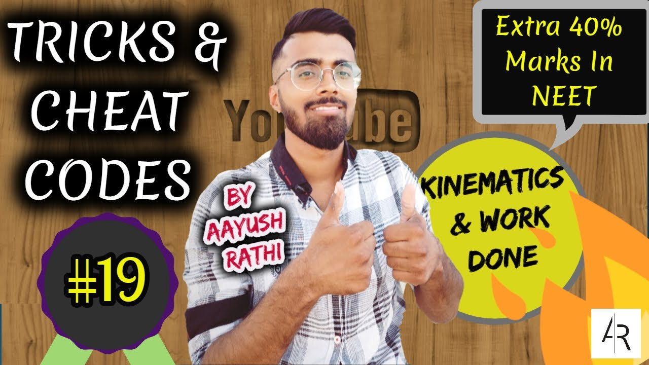 NEET Physics 2017🔥🔥🔥-Tricks & Cheat Codes #19