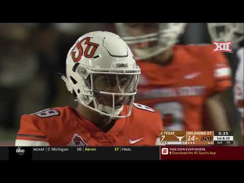 Texas vs Oklahoma State Football Highlights