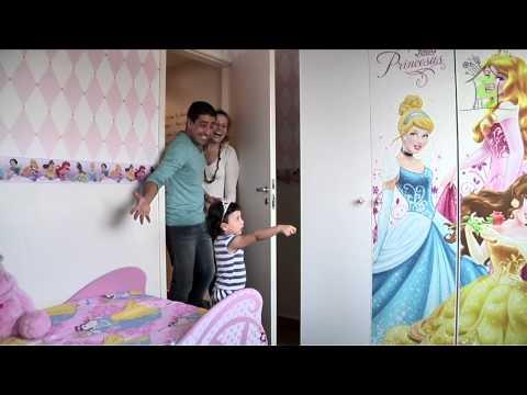 Móveis infantis - O sonho de um quarto de princesa- Casa Tema
