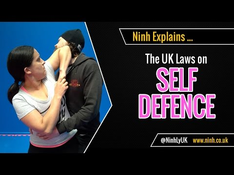 UK Laws on Self Defence (Self Defense) - EXPLAINED!