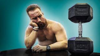 постер к видео 90 Дней Без Тренировок. Результат Шокировал #тренировки #тренажерныйзал #эксперимент