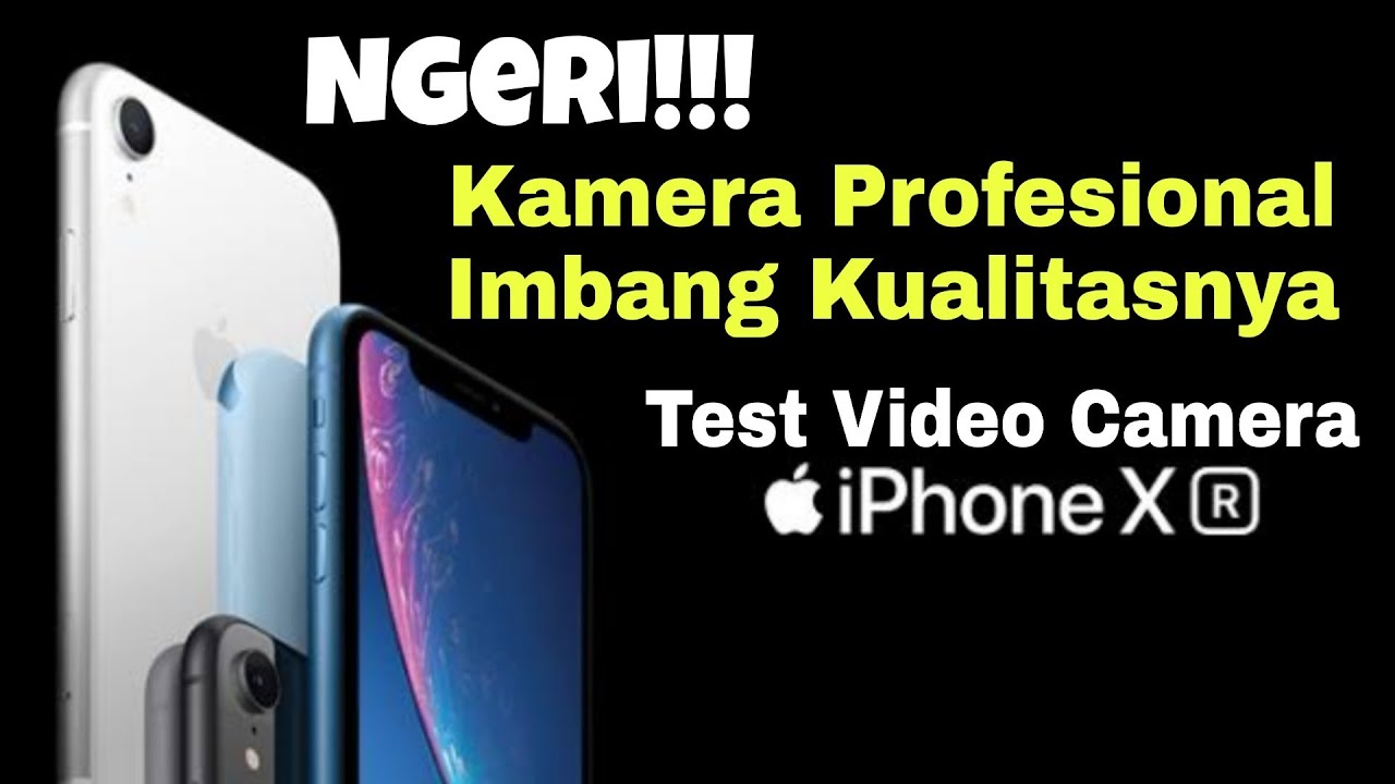 Unboxing Test Video Camera di tahun 2020 iPhone XR , Masih Worht it ??