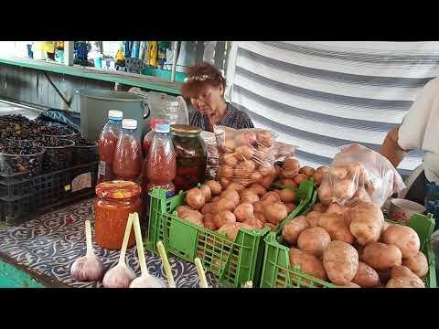 Рынок, цены в Соль-Илецке в пик сезона