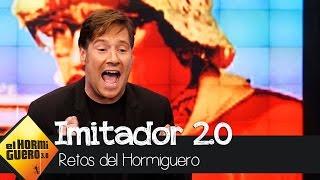 Así imita Carlos Latre a 65 personajes en 2 minutos - El Hormiguero 3.0