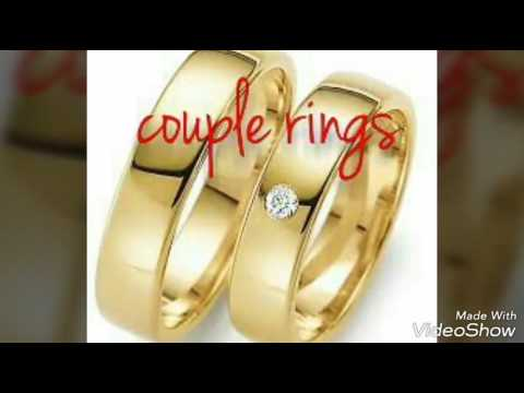 Gold couple rings Mangalraj Jewellers s gold rings Gents gold