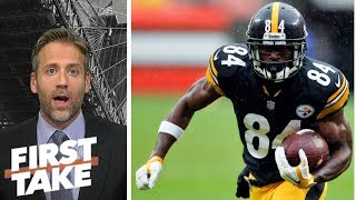 Max has a big problem with Antonio Brown's response on twitter | First Take | ESPN