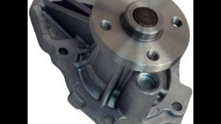 Water Pump Replacement 02-11 Toyota Camry 2.4L
