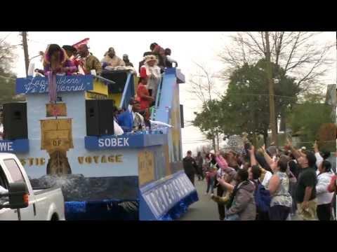 The Krewe of Highland Parade in Shreveport, Louisiana