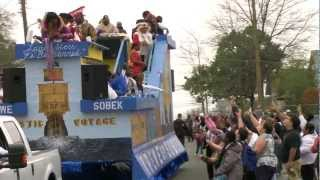 The Krewe of Highland Parade in Shreveport, Louisiana