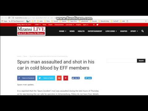 spur man assaulted by EFF - Fake or True