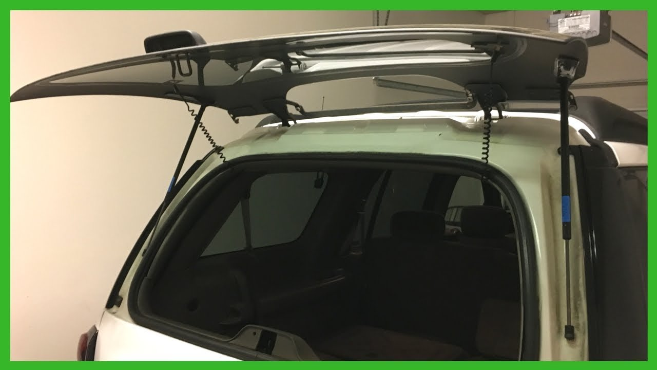 Replacing Rear Window Hatch Lift Supports Chevy Trailblazer Ext Lt 4 2l Envoy