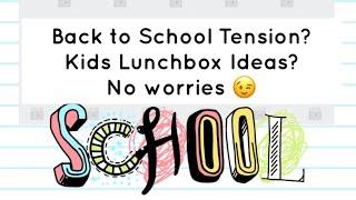 Parenting Tips | Back to School in Tamil | Kids Lunchbox Ideas |பெற்றோர்கள் தெரிந்துகொள்ள வேண்டியவை