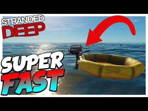 Stranded Deep   SPEED BOAT GLITCH   Stranded Deep Updated 3