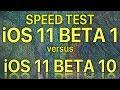 iOS 11 Beta 1 vs iOS 11 Beta 10 / Public Beta 9 ? How much progress has Apple made in 10 releases.