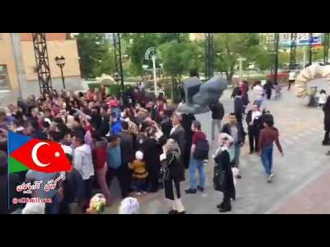 GAMOH- Güney Azerbaycan Tabriz 2018 ,Azerbaycan reqsi