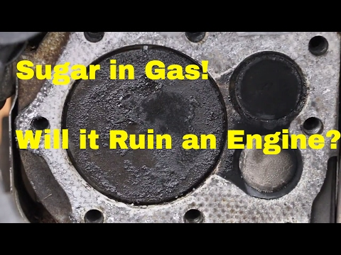 Thumbnail: Will Sugar in Gas Destroy a Vehicles Engine? See what it does to this Engine!