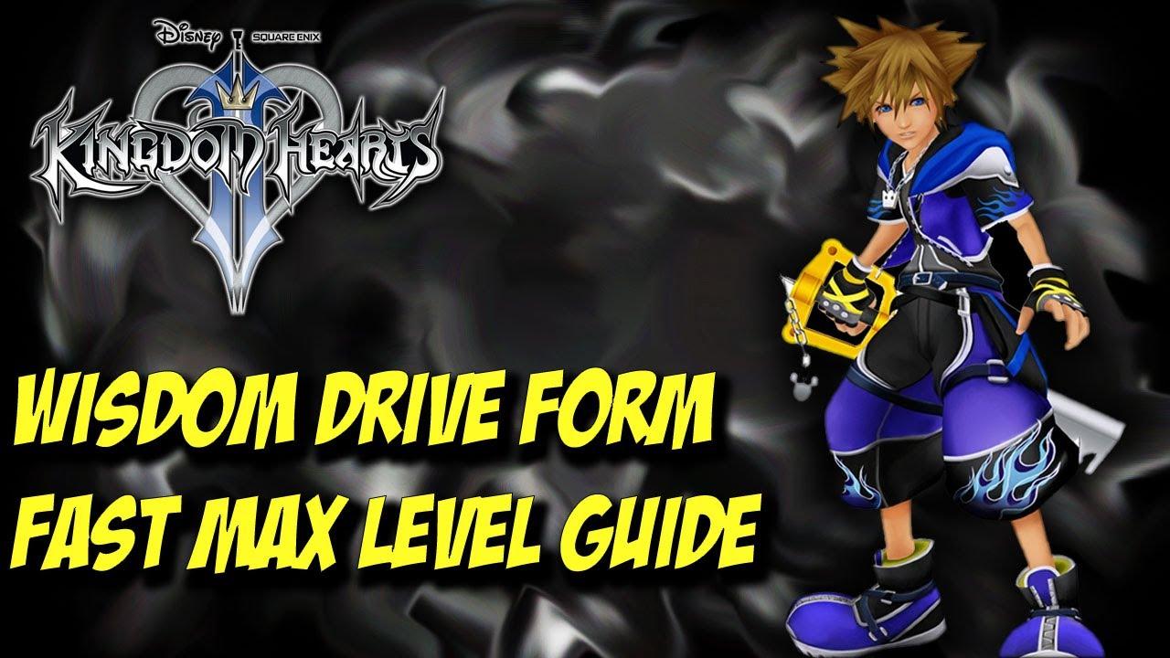 Kingdom Hearts 2.5 Remix Wisdom Drive Form Gauge Leveling Guide ...