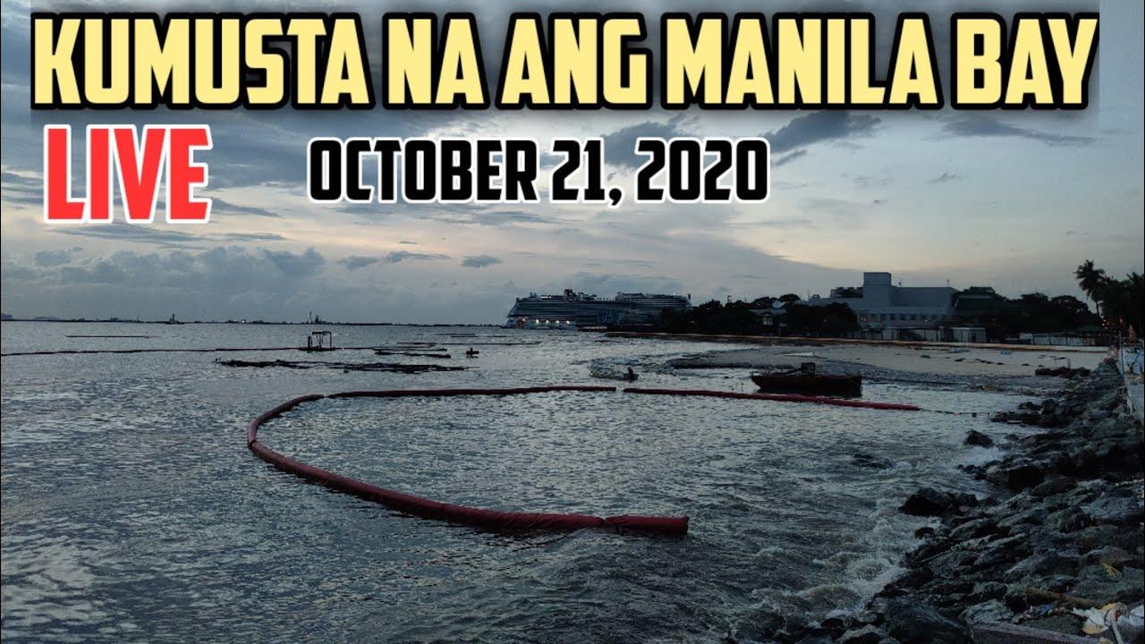 Manila Bay Pagkatapos ng Bagyong Pepito