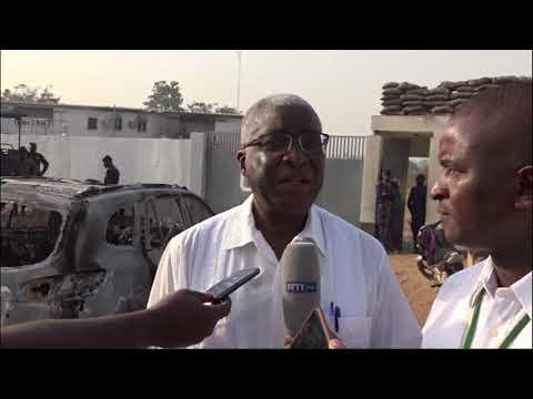 Tensions à Bouaké : La base du CCDO saccagée, le maire réagit