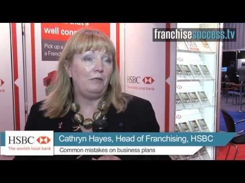Common mistakes on business plans? - HSBC Bank - FranchiseSuccess.tv