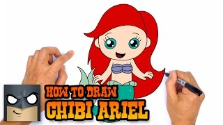 How to Draw Ariel | The Little Mermaid