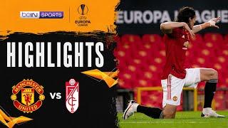 Manchester United 2-0 Granada   Europa League 20/21 Match Highlights