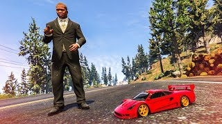 AWESOME RC CAR STUNT! - (GTA 5 Mods Funny Moments)