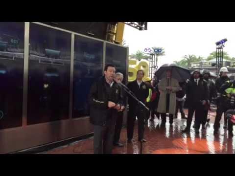 Keith Bruce Talks Super Bowl City #SB50 - Zennie62