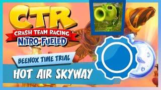 CTR:NF Hot Air Skyway Time Trial Beenox SOLDIERDIEGO