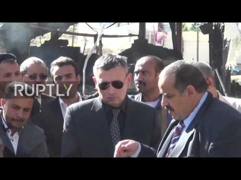 Yemen: Russian ambassador visits site of deadly Saudi airstrike on Sanaa market