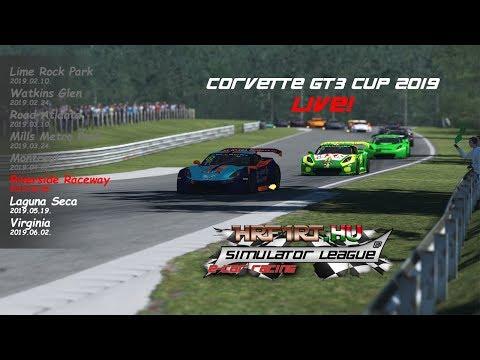 HRF1RT Corvette GT3 - Riverside Raceway LIVE!