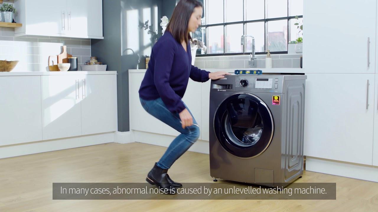 Make Your Samsung Washing Machine Quieter – Samsung