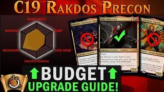 Rakdos Madness Precon Upgrade Guide I C19 I The Command Zone #282 I Magic: the Gathering EDH