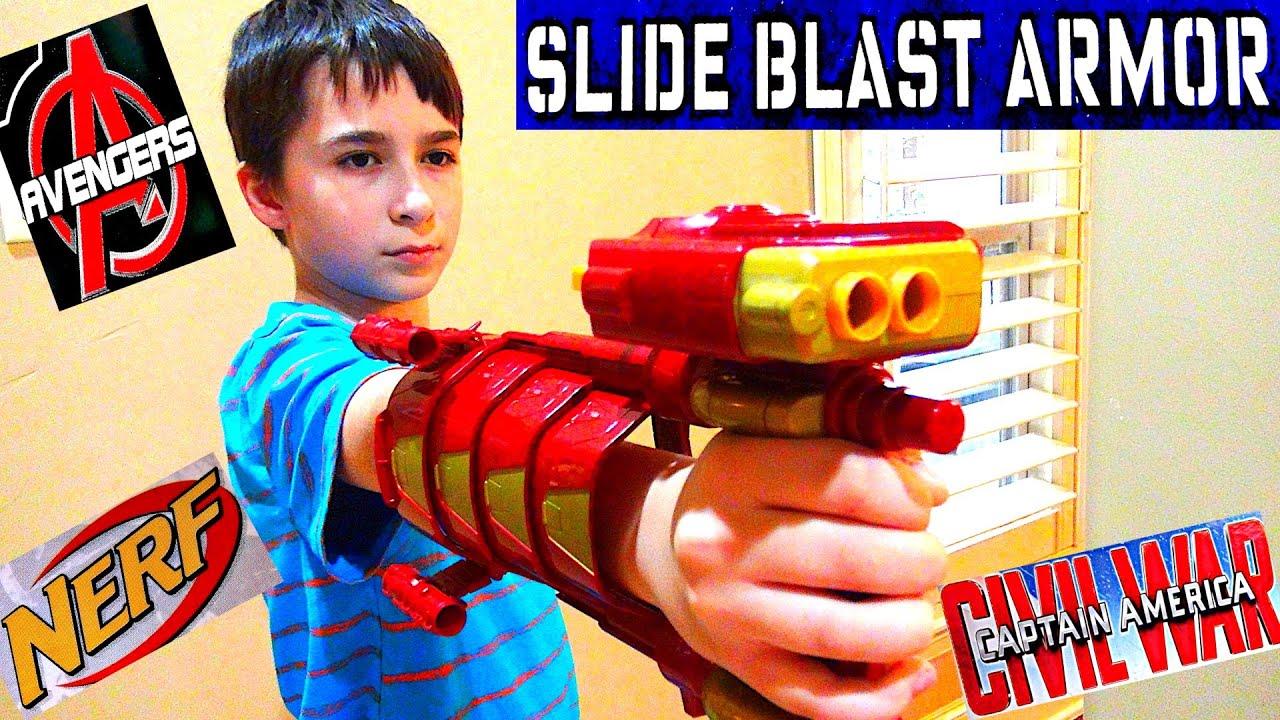 Marvel Captain America: Civil War Slide Blast Armor with ...