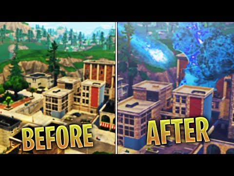 Fortnite Meteor ACTIVATED! Meteor Heading for Tilted Towers! (NEW INFORTMATION)