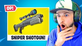 Fortnite's SNIPER SHOTGUN!