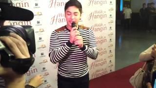 Halik Sa Hangin Premiere Night (Coco Martin Arrives)