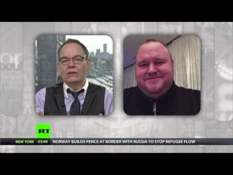 Kim Dotcom explains Bitcache and Mega Upload 2 on the Keiser Report @KimDotcom