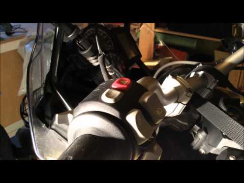 Motorcycle Clutch Lever Installation/Replacement BMW f800GS
