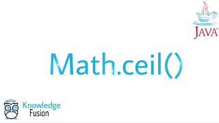 Math.ceil() function in JAVA | ICSE