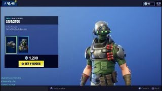 *NEW* TECH OPS Skin! - Fortnite Item Shop January 24