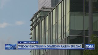 Windows in state building are shattering, and costing taxpayers