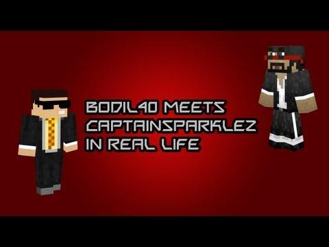 Bodil40 Meets CaptainSparklez Face to Face