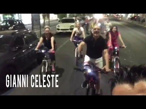 Gianni Celeste - IN BICICLETTA - CORSO ITALIA CATANIA
