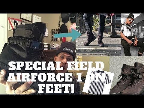"""HOW TO WEAR SPECIAL FIELD AIRFORCE 1 """"Velvet Brown"""" ON FEET! (PERFECT SHOES FOR FALL & WINTER)"""