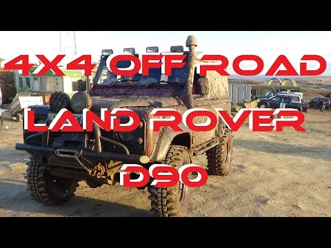 LAND ROVER DEFENDER OFF ROAD UK (1 of 2) D90 @ COWM Quarry