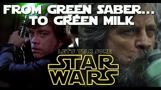 "What happened to Luke Skywalker and how to ""fix"" it for all  (Let's Talk Some Star Wars)"